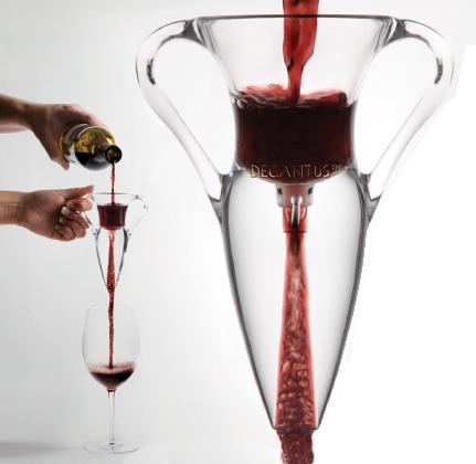 DECANTUS Wine Aerator, A UNIQUE, BY-THE-GLASS WINE DECANTING SYSTEM
