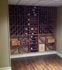 Miramichi, NB - Wine Display