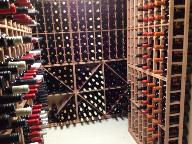 Mustange Powder Lodge wine cellar