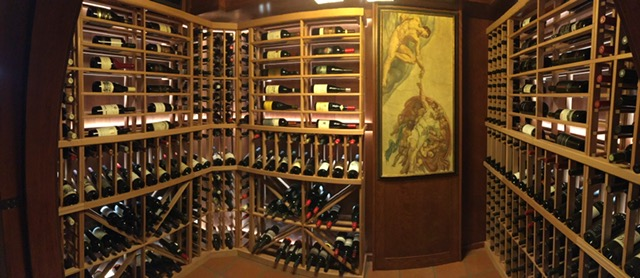 Collector's Edition Wine Racking - client installed