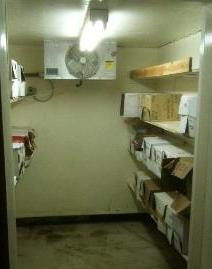 West Kelowna Cold Room - Before